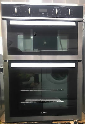 CDA DV980SS Fan Assisted Electric Double Oven in Stainless Steel