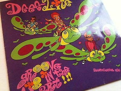 "Deee-Lite - Groove Is In The Heart - House Classic !! 12"" Vinyl Record Dj"