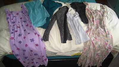 Bundle of ladies clothes 10 & 12 Tops Dresses M & Co + Essentials + M&S + Etam