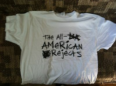 The All American Rejects t-shirt adult XL pre-shrunk cotton 100 %
