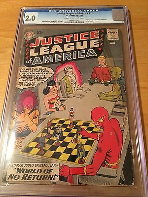 Justice League #1 CGC 2.0 - Batman V. Superman movie launching JLA soon!