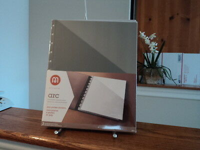 Arc M  By Staples Pocket Poly Dividers Notebook System 2 Pack New In Package