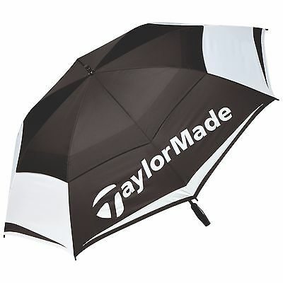"New For 2017 - TaylorMade Golf Tour Double Canopy 64"" Golf Umbrella"