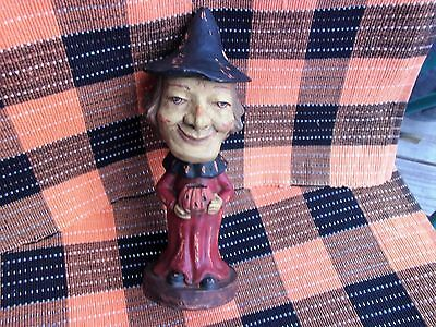 REPRODUCTION of GERMAN OLD WITCH HALLOWEEN CANDY CONTAINER by BETHANY LOWE