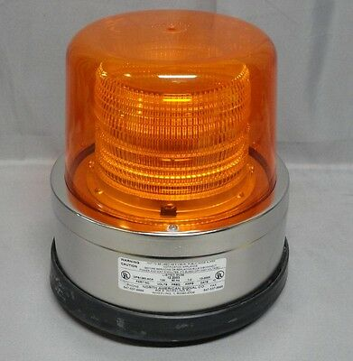 North American Signal * 1250 Series * Amber Strobe Light * Dfs1250-Aca * New