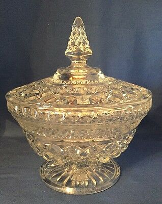 Antique Candy Dish / bowl With Lid.