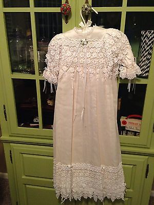 Handmaiden Classic christening gown baptism lace size 3 months new with tags