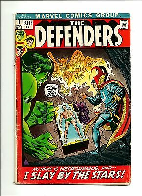 1972 Marvel Comics The Defenders # 1 GD 2.0 1st Issue of Ongoing Series