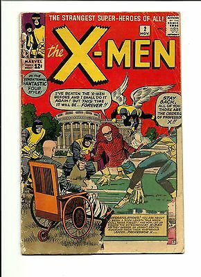 1963 Marvel Comics X-Men # 2 1st Vanisher PR 0.5