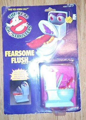 1986 Kenner   The Real Ghostbusters  FEARSOME FLUSH   ACTION TOY FIGURE UNOPENED