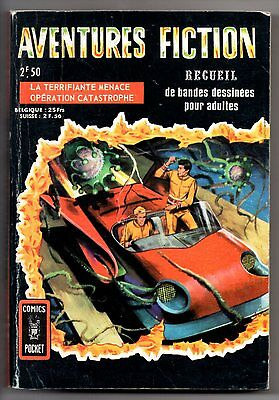 ALBUM/RECUEIL AVENTURES FICTION n°3051 ¤ 1969 COMICS POCKET