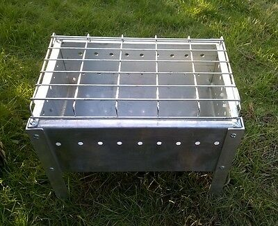 Oriental Outdoor  Steel Fire Pit Stove BBQ and for Garden Patio Heating