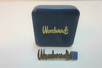 Canadian Dept Store Woodward's Staff Pin 1986 Expo Year Mint in Box