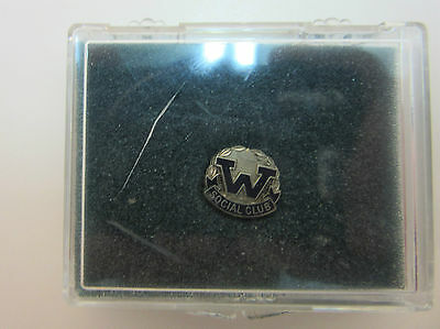 Canadian Dept Store Woodward's Staff Social Club Pin Mint