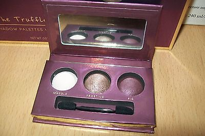 Laura Geller eye shadow trio ' Chocolate Plum Cordial ' new & unboxed