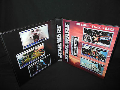 Custom Made Star Wars The Empire Strikes Back Widevision Binder Graphics Only