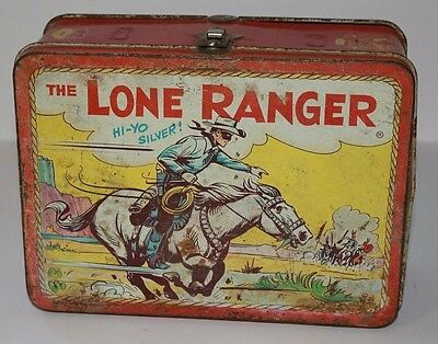 Vintage Lunchbox 1954 The Lone Ranger
