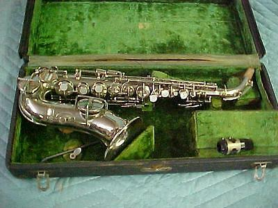 Antique CONN 4M New Wonder I Curved Soprano Saxophone, Excellent Condition!