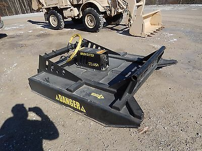 """72"" Heavy Duty Bobcat Skidsteer Mower Bush Hog Brush Cutter Attachment Skid"