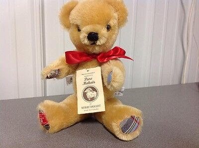 Pure Mohair Teddy Bear Merrythought Mint Brand New Priority Ship! Only 500 Made!