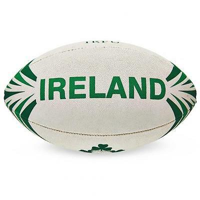 Ireland R.F.U. Synthetic Rugby Ball Official Licensed Product 4 Panel