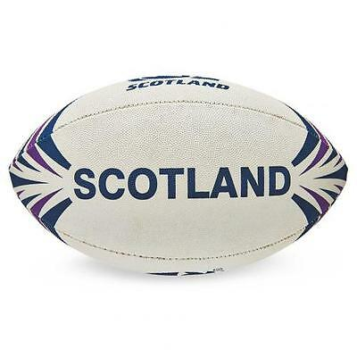 Scotland R.F.U. Synthetic Rugby Ball Official Licensed Product 4 Panel