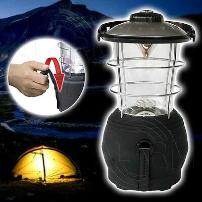 Dynamo LED Leuchte Zeltlampe Angellampe Black Outdoor Lampe Laterne Angelleuchte