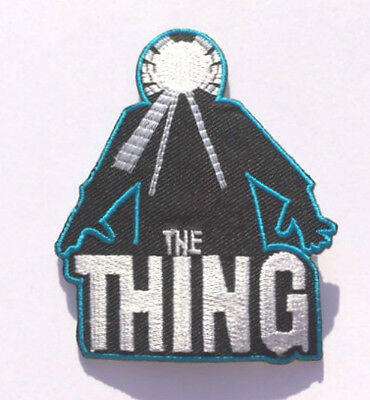 The Thing Poster Logo Embroidered Patch Horror Movie Creature John Carpenter NEW
