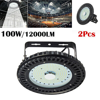 250W UFO LED High Bay Light Gym Factory Warehouse Shed Lighting Industrial lamp