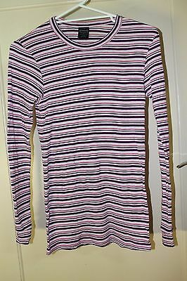 Kathmandu Striped Thermal Top Long Sleeved Size S