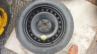 """Ford S Max 2006-2018 Space Saver 16"""" Spare Wheel Free Delivery"""