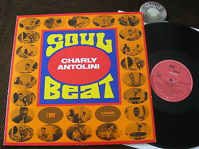 LP Charly Antolini Soul Beat Germany 1968 | M- to EX
