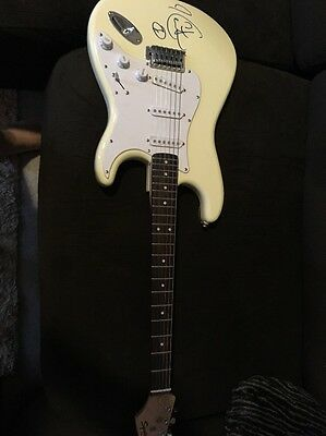 Keith Urban Signed Fender Squire