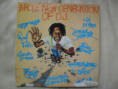 A Whole New Generation Of Dj ~ Various ~ Greensleeves Reggae Grel26 Vinyl Lp Ex