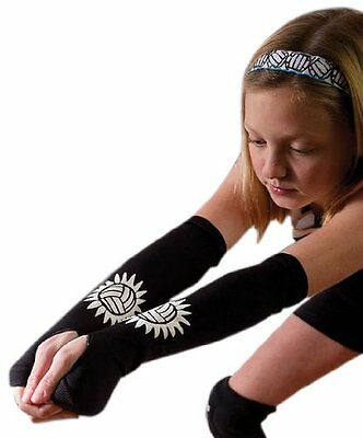 Tandem Sport Volleyball Passing Sleeve, Black, Small/Medium