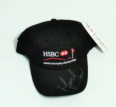 Hsbc World Match Play Championship- Bnwt Golf Cap Signed By Michael Campbell