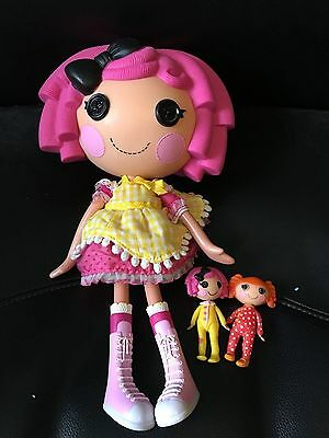 Lalaloopsy large doll with 2 mini dolls