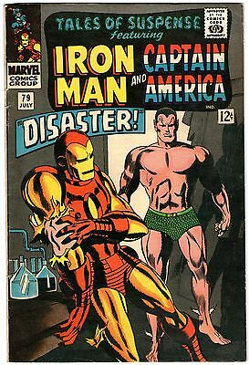 Tales Of Suspense #79. Marvel July 1966. Iron Man, Captain America. FN-
