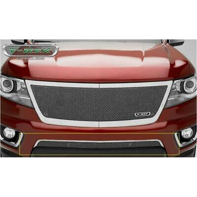 TRex Grilles 55195 Upper Class Small Mesh Stainless Polished Finish Bumper Grille Overlay for Cadillac Escalade T-Rex
