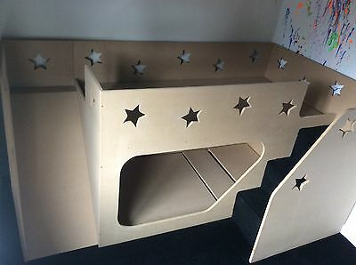 ***AMAZING NEW OFFER*** Handmade Kids Bunk Cabin Bed With Stairs