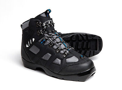 NEW Whitewoods 306 NNN BC Cross Country Ski Boots, Black and Blue, NIB