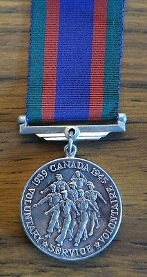 WW2 Canadian issued Volunteer Service Medal