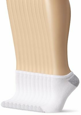 No Show Socks 10 Pairs Womens Women Runners White 9 - 11 Size Cotton Polyester