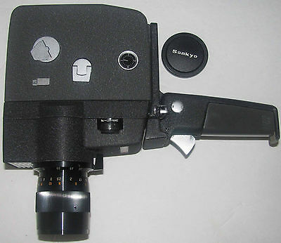 Sankyo Seiki 8-Z Auto Zoom Super 8 Camera