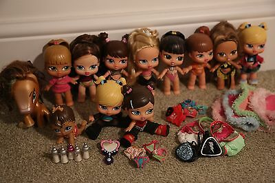 Bratz Babyz Bundle 10 Dolls Plus Toddler And Pony, Clothes And Accessories