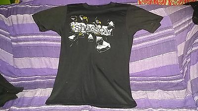 Bruce Dickinson Iron Maiden Ultra RARE! Samson: 1980 Tour T-shirt with dates