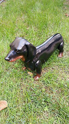 PVC DachsHund Mannequin Dog Display Move legs head positioning removable head