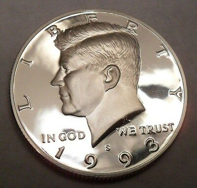 1993 S Kennedy *90% Silver Proof* Half Dollar  **free Shipping**
