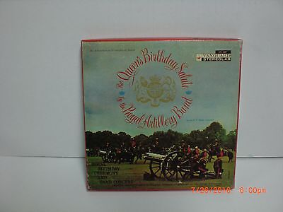 The Queen's Birthday Salute ~ Royal Regiment Band /  7½ IPS  Reel To Reel Tape