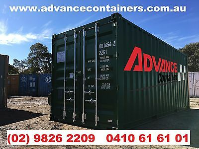 20ft SHIPPING CONTAINER & DELIVERY Package NSW - Used, Refurbished or New.